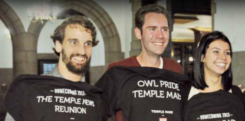 The Temple News has a prestigious alumni network.